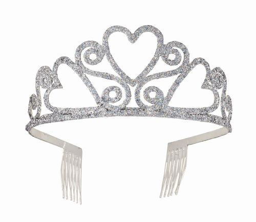 Tiara Sparkly Glitter Princess Fairy Queen Fancy Dress Accessory